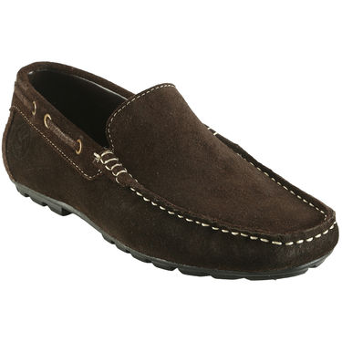 Bacca Bucci Genuine Leather Brown Loafers -Bbmc4040C