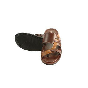 Bacca bucci Leather  Slipper Bb028 _Brown