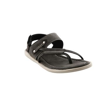 Bacca Bucci Leather  Sandal  Bbme6007I -grey