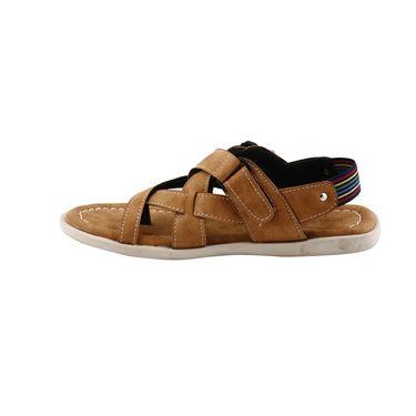 Bacca Bucci Leather  Sandal  Bbme6009D -Tan