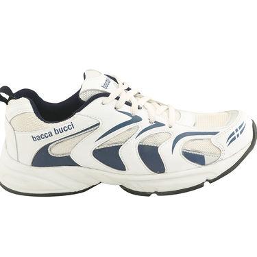Bacca bucci PU White Sports Shoes -ntb1