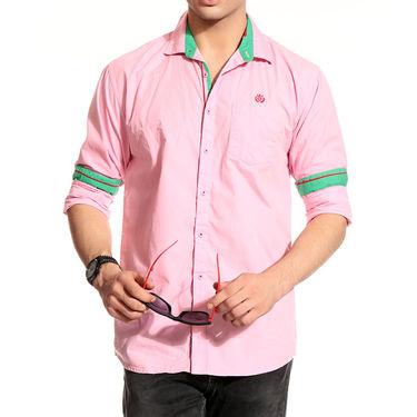 Pack of 3 Good Karma Cotton Premium Designer Shirts_Gkc004 - Mulitcolor