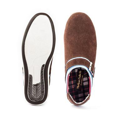 Kohinoor Footwears Canvas Casual Shoes BT089_Brown
