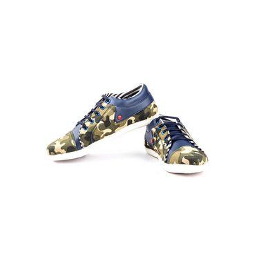 Kohinoor Footwears Canvas Casual Shoes BT093_Blue