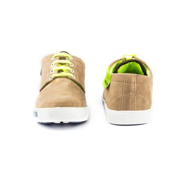 Kohinoor Footwears Canvas Casual Shoes BT094_Olive