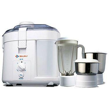 Bajaj JX10 Juicer Mixer Grinder - White