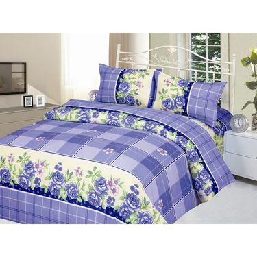 Carah Pack of 2 Bedsheets With Four Pillow Covers-CRH-DB179