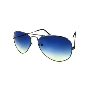 Unisex Aviator Sunglasses_Bes010 - Blue