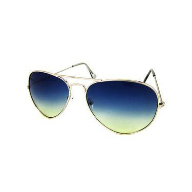 Unisex Aviator Sunglasses_Bes013 - Blue