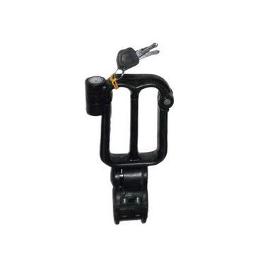 Bike Helmet Lock Black - Pack of 2