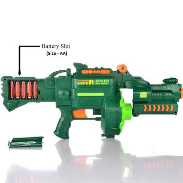 Kids Semi-auto Barrel Blaster Gun with 40 Soft Bullets
