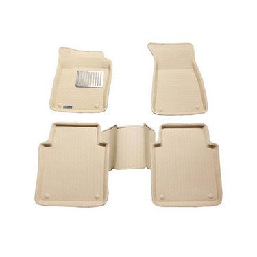 Branded 3D Car Bucket Tray Footmat For Honda Ivtech - Beige