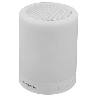 Ambrane Portable Lamp Bluetooth Speaker BT 6000 - White