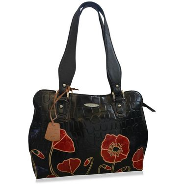 Arpera Black Ladies Handbag Ssa17