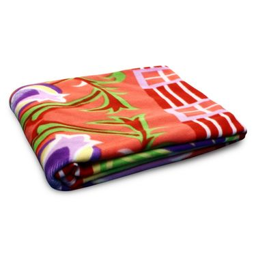 Storyathome Pack of 2 Designer Printed Double Fleece Blanket-CA1210-CA1212