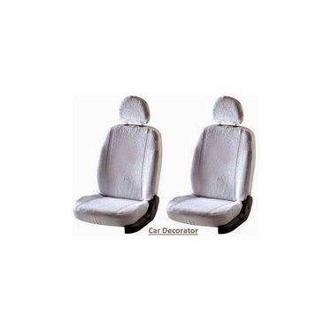 Car Seat Cover For Hyundai Cent - White - CAR_1SC1WHT226
