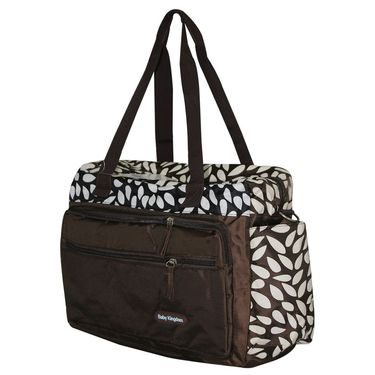 Wonderkids Brown Baby Diaper Bag