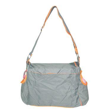Wonderkids Baby Diaper Bag Grey