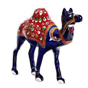 Multicolor Camel Metal Showpiece-310-CMC15310