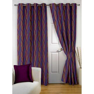 Storyathome 100% Cotton 1 Double Bedsheet Set,2 Pc Door Curtain,1 Pc Blanket & 2 Pc Hand Towel Combo-DNR3024