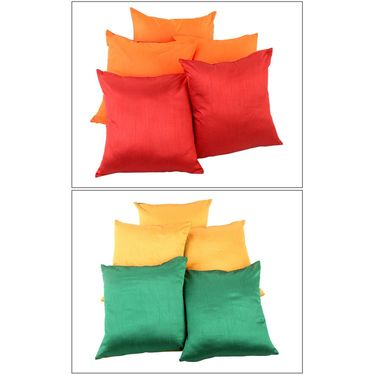 Pack of-10  Square Cushion Cover Combo-COM00165