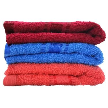 Carah Set of 3 Hand Towel CRH-TWL-H009