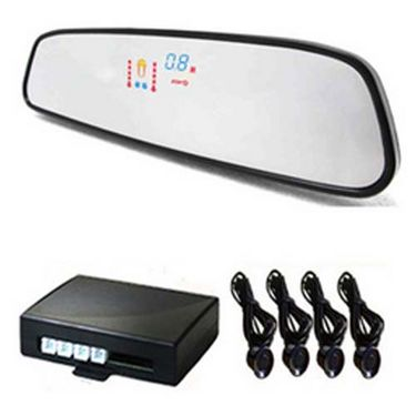 Car Reverse Safty Parking Sensors With Mirror Display