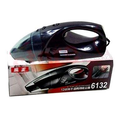 Coido High Power Car Vacuum Cleaner Wet/Dry - Black