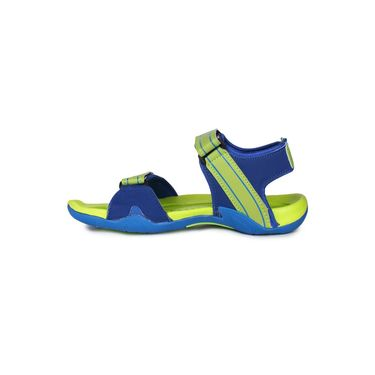 Columbus PU Blue & Green Casual Floaters -Ab-772