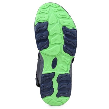 Columbus PU Grey Blue & Green Floater -Ab-933