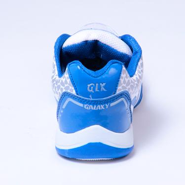 Columbus PU Sports Shoes - White & Blue-1935