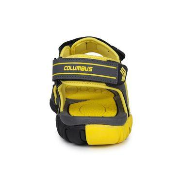 Columbus PU Grey & Yellow Floater -S-101