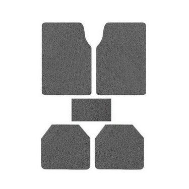 AutoStark Anti Slip Noodle Car Floor Mats SET OF 5-Grey