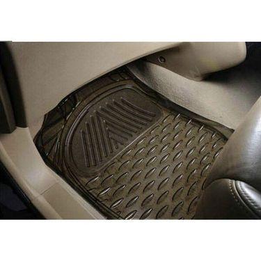 AutoStark Transparent Black Car Floor / Foot Mats