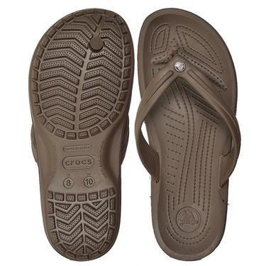 Crocs Brown Flip Flops - oc02