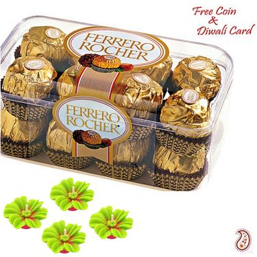 Aapno Rajasthan 16 Pc Ferrero Rocher Pack for Diwali