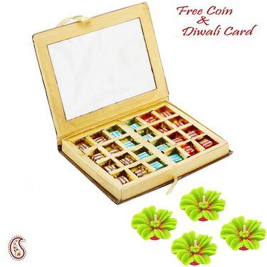 Aapno Rajasthan 24 pc Homemade Chocolates Pack