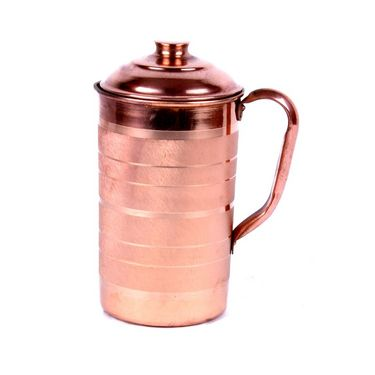 Copper Fame Jug with Lid