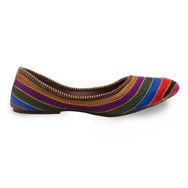 Branded Womens Bellies Multicolor -MO306