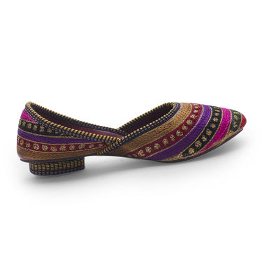 Branded Womens Bellies Multicolor -MO307