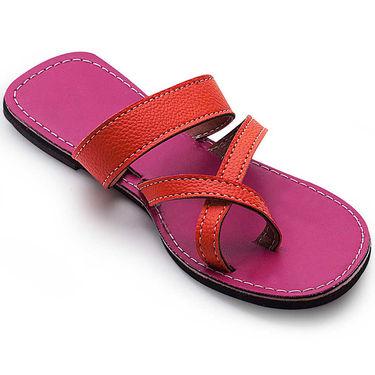 Branded Womens Sandal Magenta -MO341