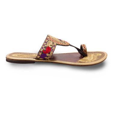 Branded Womens Sandal Multicolor -MO345