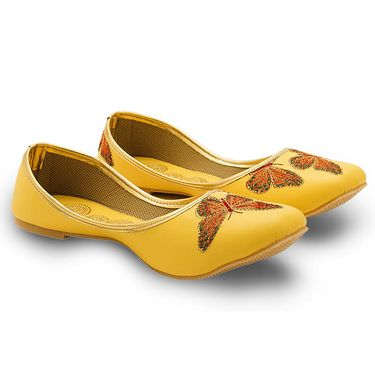 Branded Womens Bellies Yellow -MO350