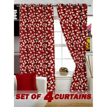 Set of 4 Printed Door curtain-7 feet-DNR_2_2017