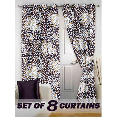 Set of 8 Printed Door curtain-7 feet-DNR_4_2077