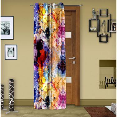 Story @ Home 1 pc Digital Print Door curtain-7 feet-DRT1102