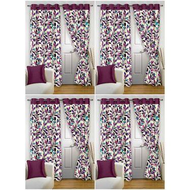 Storyathome Set 8 Door curtain-7 feet-DTZ_4-1001