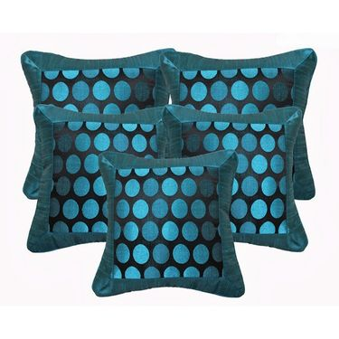 Set of 5 Dekor World Design Cushion Cover-DWCC-12-021-5