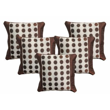 Set of 5 Dekor World Design Cushion Cover-DWCC-12-062-5