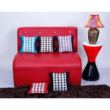 Set of 5 Dekor World Design Cushion Cover-DWCC-12-064-5
